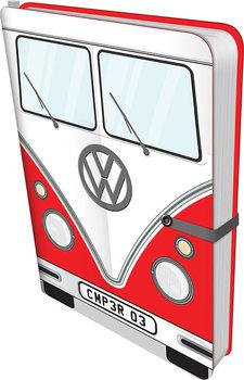 Volkswagen - Red Camper Anteckningsbok