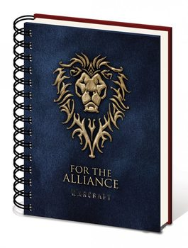 Warcraft: The Beginning - Choose a side A5 notebook Anteckningsbok