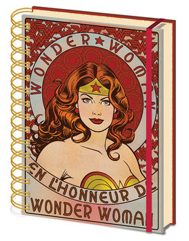 Wonder Woman - En L'Honneur De Anteckningsbok