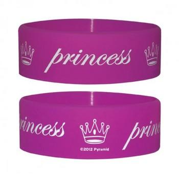 PRINCESS Armband silikon