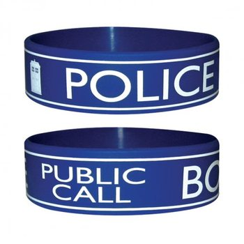 DOCTOR WHO - police Armbanden