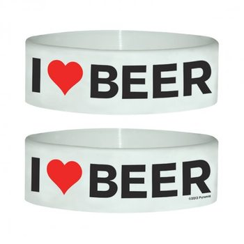 I LOVE BEER Armbänder