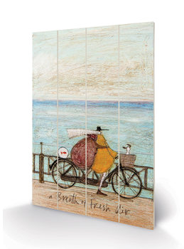 Cuadro de madera  Sam Toft - A Breath of Fresh Air