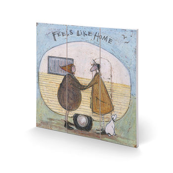 Cuadro de madera  Sam Toft - Feels Like Home
