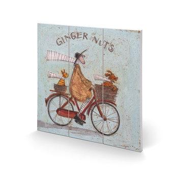 Cuadro de madera Sam Toft - Ginger Nuts