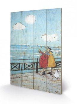 Cuadro de madera Sam Toft - Her Favourite Cloud