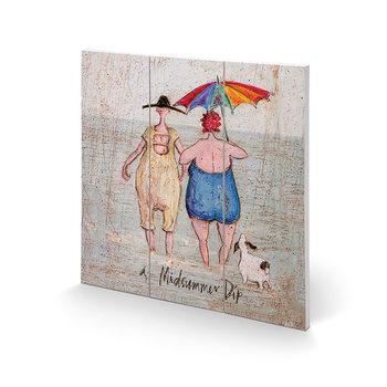 Cuadro de madera Sam Toft - Midsummer Dip