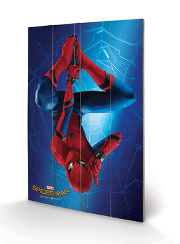 Cuadro de madera  Spider-Man Homecoming - Hang