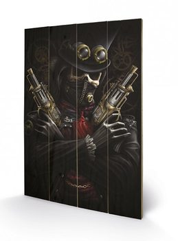 Art en tabla SPIRAL - steampunk bandit