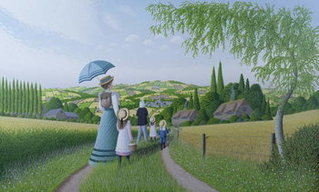 A Day in the Country, 1996 Obrazová reprodukcia