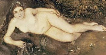 A Nymph by a Stream, 1869-70 Kunstdruck