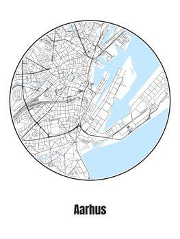 Mapa de Aarhus