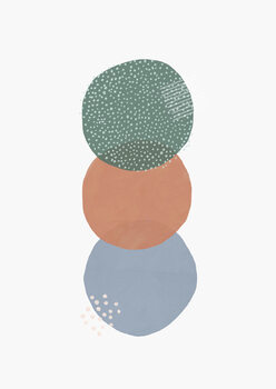 Illustration Abstract soft circles part 2