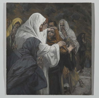 Reproducción de arte Address to Saint Philip, illustration from 'The Life of Our Lord Jesus Christ', 1886-94