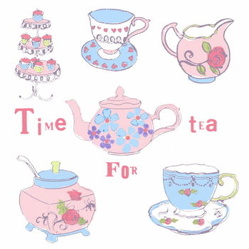Afternoon Tea Kunsttryk