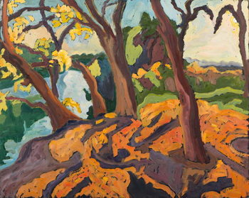 Ageing trees, 2009 Reproduction de Tableau