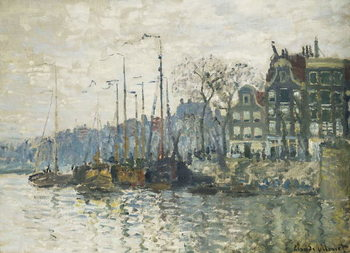 Amsterdam, 1874 Reproduction de Tableau