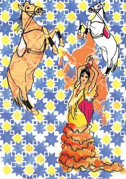 Andalusia, 2013 Kunstdruck