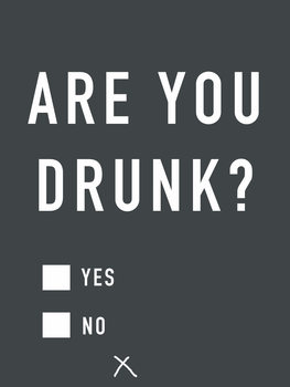 Ilustración Are you drunk