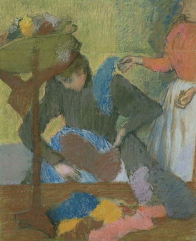 At the Milliner's, c.1898 Kunstdruk