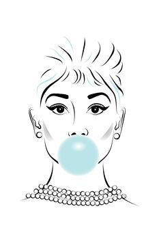 Ilustrácia Audrey