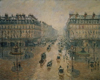 Avenue de L'Opera, Paris, 1898 Kunstdruck