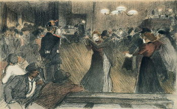 Ball at the Barriere Kunsttryk