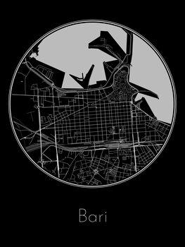Mapa de Bari