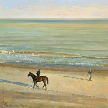 Beach Dialogue, Dunwich Kunstdruck