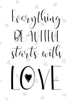 Ilustración Beautiful love