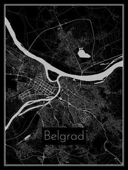 Mapa de Belgrad