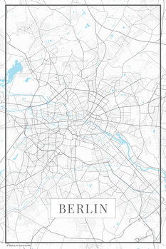 Carte de Berlin white