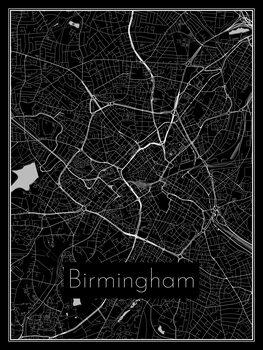 Mapa de Birmingham