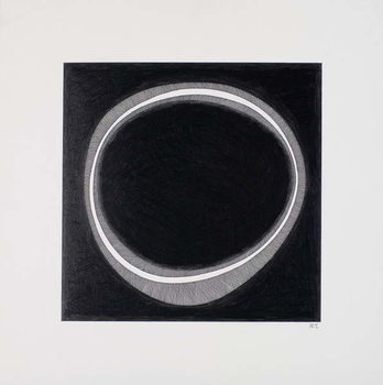 Black Circle Kunstdruk