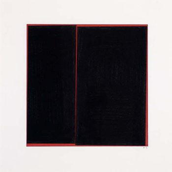 Reproducción de arte Black Slab