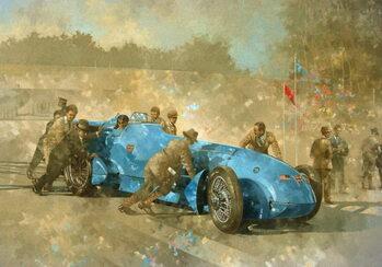 Bluebird, 1928 Kunstdruk