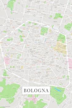 Mapa de Bologna color