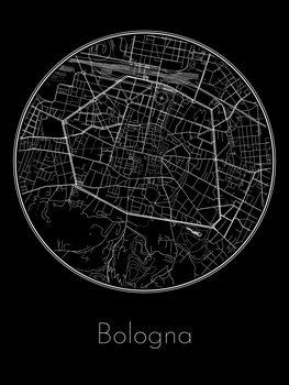 Stadtkarte von Bologna
