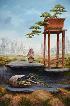 Reproducción de arte Bonsai Fantasy, 2016