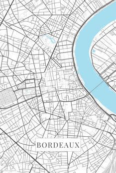 Mapa de Bordeaux white
