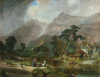 Borrowdale, 1846 Obrazová reprodukcia