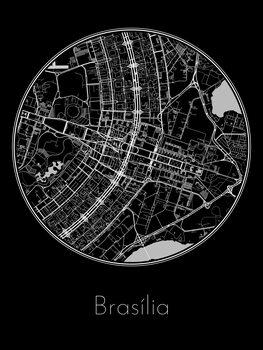 Stadtkarte von Brasília
