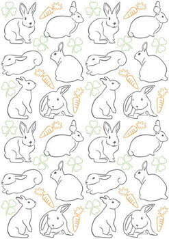 Bunnies Reproduction de Tableau