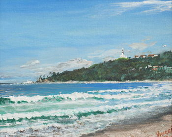 Reproducción de arte Byron Bay, Australia, 1998,