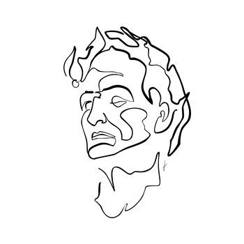 Ilustración Caesar