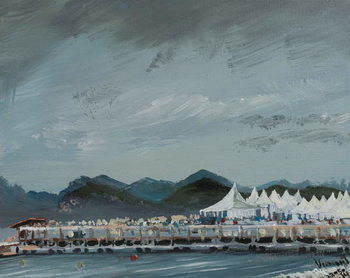 Cannes Film Festival tents 2014, 2914, Reproduction de Tableau