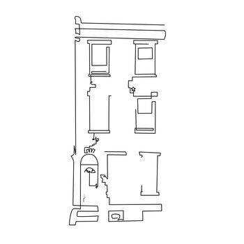 Ilustración Casa
