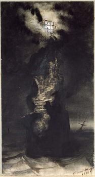Reproducción de arte Casquets Lighthouse, 1866