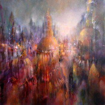 Ilustración Cathedral city