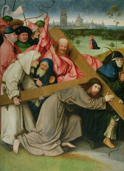 Christ Carrying the Cross Reproduction de Tableau